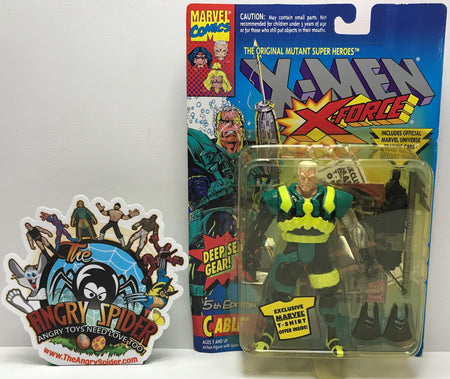 TAS041176 - 1994 Toy Biz Marvel X-Men X-Force - 5th Edition Cable