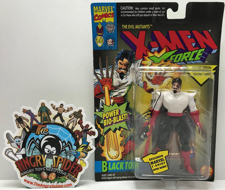 TAS041177 - 1994 Toy Biz Marvel X-Men X-Force - Black Tom Power Bio-Blast