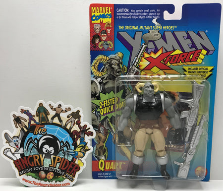 TAS041179 - 1994 Toy Biz Marvel X-Men X-Force - Quark Action Figure