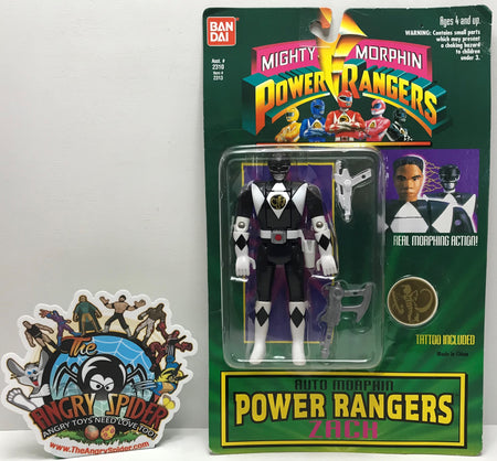 TAS041188 - 1994 Bandai Mighty Morphin Power Rangers Auto Morphin Zach