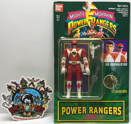 TAS041189 - 1994 Bandai Mighty Morphin Power Rangers Auto Morphin Jason