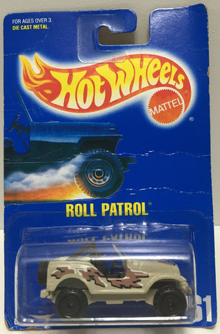 TAS037519 - 1991 Mattel Hot Wheels Die-Cast Roll Patrol #161