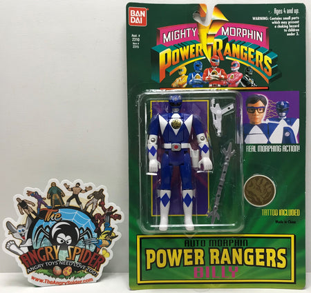 TAS041192 - 1994 Bandai Mighty Morphin Power Rangers Auto Morphin Billy
