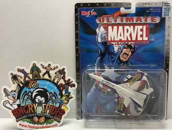 TAS041196 - 2002 Maisto Ultimate Marvel Air Force Collection Captain America
