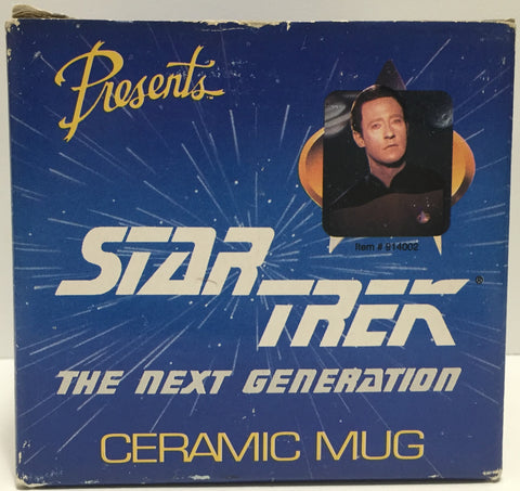 TAS037525 - 1992 Star Trek The Next Generation  Ceramic Mug