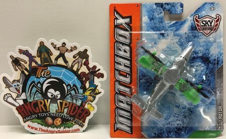 TAS041199 - 2011 Mattel Matchbox Die-Cast Sky Busters Tilt Rotor Jungle