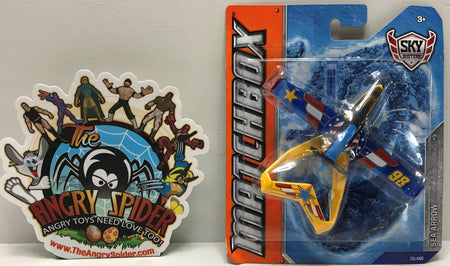 TAS041201 - 2011 Mattel Matchbox Die-Cast Sky Busters Island Sea Arrow