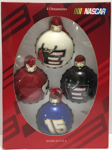 TAS037419 - 2004 Nascar Dale Earnhardt Christmas Ornaments