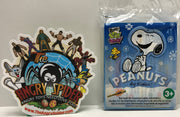 TAS041206 - Schulz Wendy's Peanuts Charlie Brown Snoopy Christmas Holiday Gift Kit