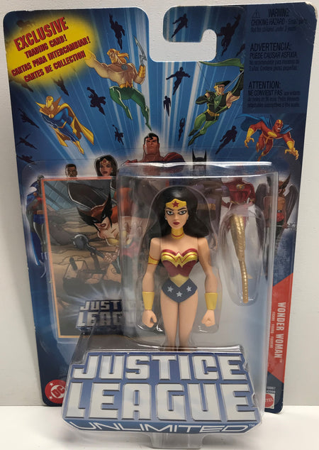 TAS038609 - 2004 Mattel DC Justice League Wonder Woman