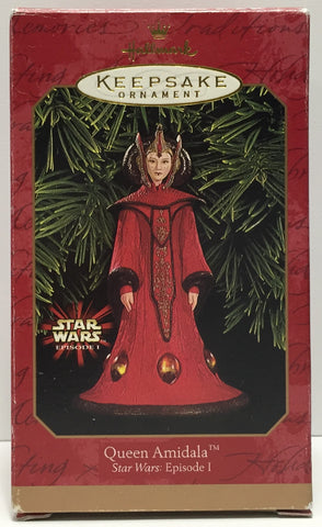 TAS037426 - 1999 Hallmark Keepsake Ornament - Star Wars Queen Amidala