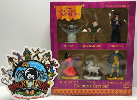 TAS041298 - Applause Disney The Hunchback Of Notre Dame 6 Piece Figure Set