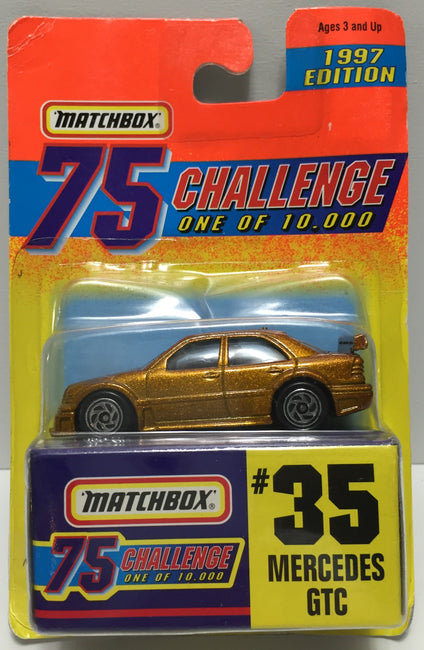 TAS037434 - 1996 Matchbox Die-Cast #35 Mercedes GTC