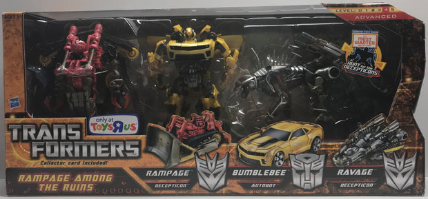 TAS038615 - 2010 Hasbro Transformers Rampage Among The Ruins