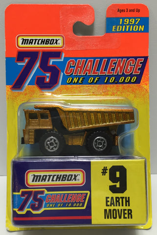 TAS037435 - 1996 Matchbox Die-Cast #9 Earth Mover