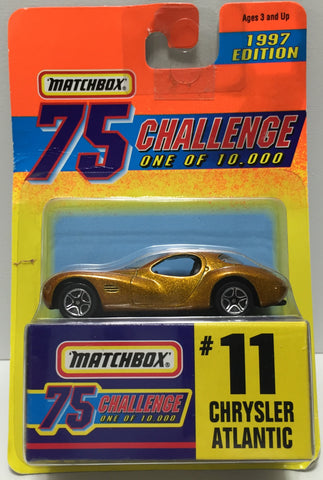 TAS037437 - 1996 Matchbox Die-Cast #11 Chrysler Atlantic