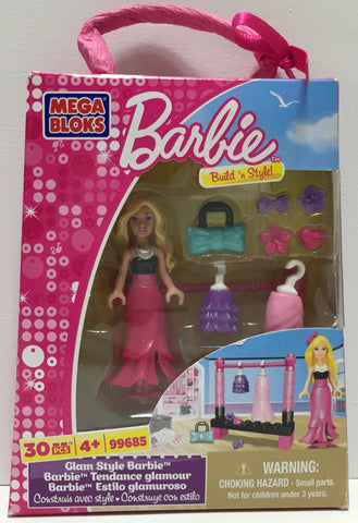 TAS037440 - 2012 Mega Brands Barbie Mega Bloks Build 'n Style!