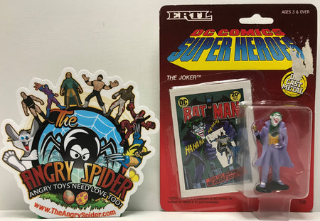 TAS041311 - 1990 ERTL DC Comics Super Heroes Die-Cast Figure - The Joker #728
