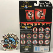TAS041252 - 1996 Kenner The Adventures Of Batman And Robin Disaster Control Batman