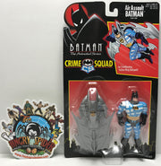 TAS041256 - 1995 Kenner Batman The Animated Series Crime Squad Air Assault Batman