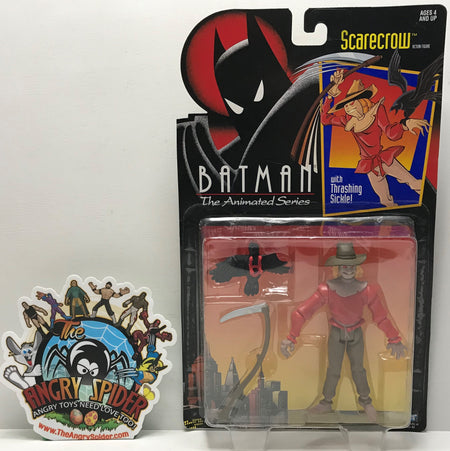TAS041014 - 1993 Kenner DC Batman The Animated Series - Scarecrow
