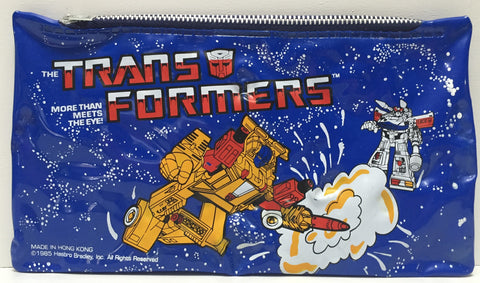 TAS037474 - 1985 Hasbro The Transformers Pencil Zipper Pouch