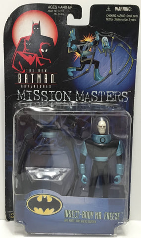 TAS037481 - 1998 Hasbro Kenner Bat-Man Insect-Body Mr. Freeze