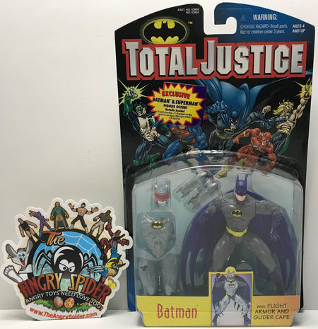 TAS041027 - 1996 Kenner DC Comics Total Justice Action Figure - Batman