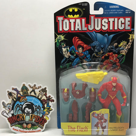 TAS041028 - 1996 Kenner DC Comics Total Justice Action Figure - The Flash