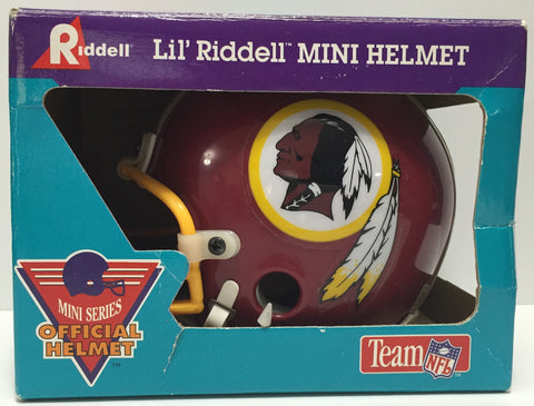 TAS037483 - 1994 Lil' Riddel Mini Helmet NFL Washington Redskins
