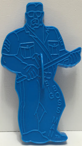 TAS037486 - 1992 Titansports WWF WWE Cookie Cutter - Big Boss Man