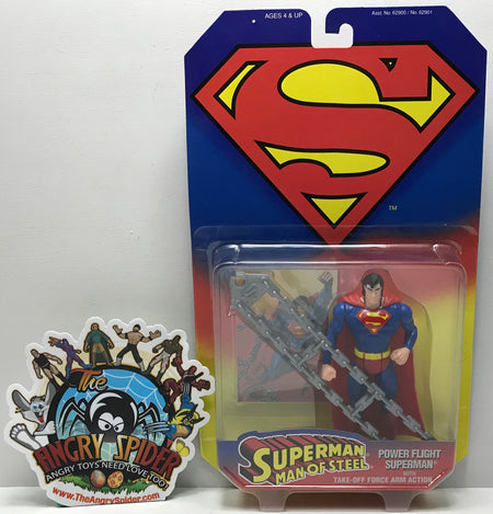TAS041032 - 1995 Kenner DC Comics Superman Man Of Steel Power Flight Superman