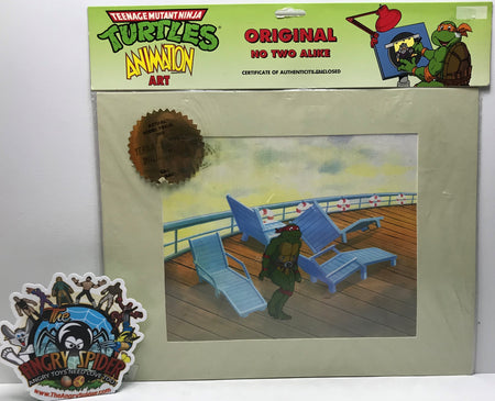 TAS041044 - 1991 Mirage Teenage Mutant Ninja Turtles Animation Art - Raphael