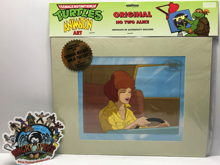 TAS041046 - 1991 Mirage Teenage Mutant Ninja Turtles Animation Art April O'Neil