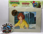 TAS041048 - 1991 Mirage Teenage Mutant Ninja Turtles Animation Art April O'Neil
