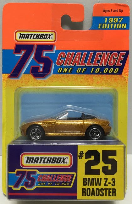 (TAS037277) - 1996 Matchbox Die-Cast #25 BMW Z-3 Roadster
