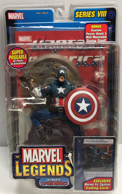 TAS038799 - 2004 Toy Biz Marvel Legends Captain America Series VIII