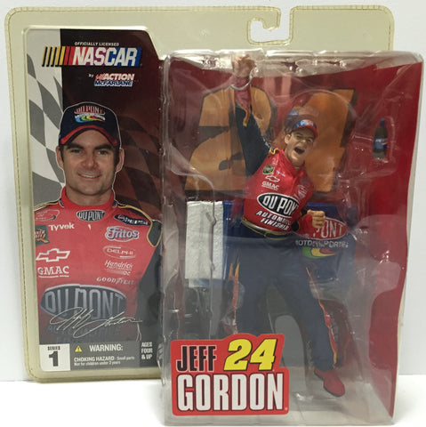 (TAS037296) - 2003 McFarlane Nascar Jeff Gordon #24 Action Figure