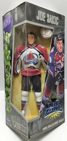 (TAS035389) - 1997 Playmates NHL Hockey Pro Zone Action Figure - Joe Sakic, , Action Figure, NHL, The Angry Spider Vintage Toys & Collectibles Store  - 1