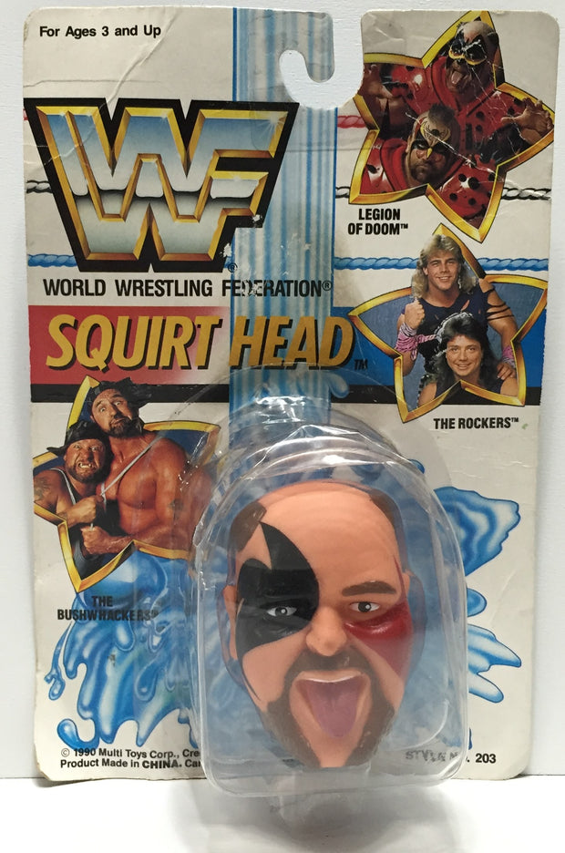TAS037605 - 1990 Titan Sports WWF WWE Squirt Head - Hawk LOD