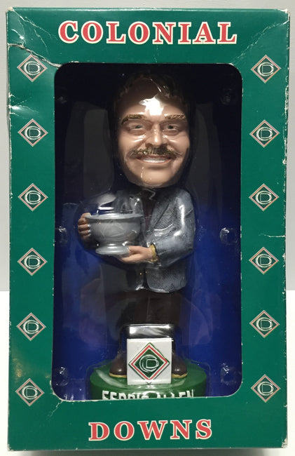 TAS016001 - 2003 Colonial Downs Bobble Head - Ferris Allen