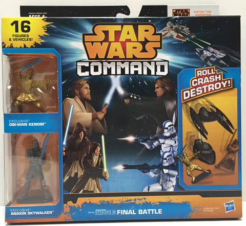 TAS016002 - 2014 Hasbro Star Wars Command Final Battle Set - Kenobi