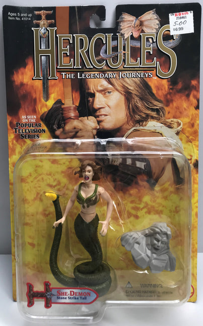 TAS038906 - 1996 Toy Biz Hercules Action Figure - She-Demon