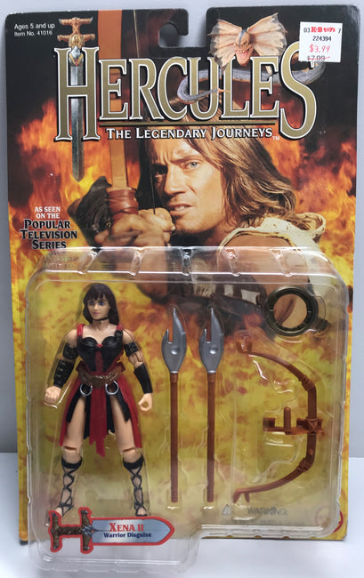 TAS038913 - 1996 Toy Biz Hercules Action Figure - Xena II Disguise