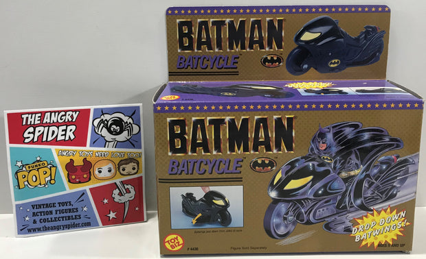 TAS041321 - 1990 Toy Biz DC Comics Batman Batcycle