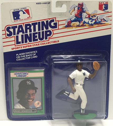 TAS022003 - 1989 Kenner Starting Lineup Figure MLB - Rickey Henderson