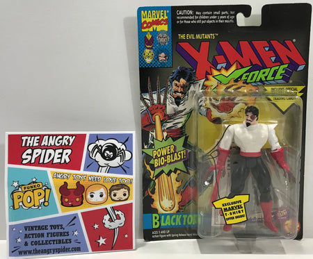 TAS041325 - 1994 Toy Biz Marvel X-Men X-Force Action Figure - Black Tom