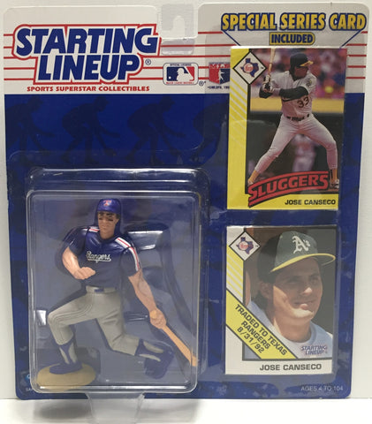 TAS022009 - 1993 Kenner Starting Lineup Figure MLB - Jose Canseco