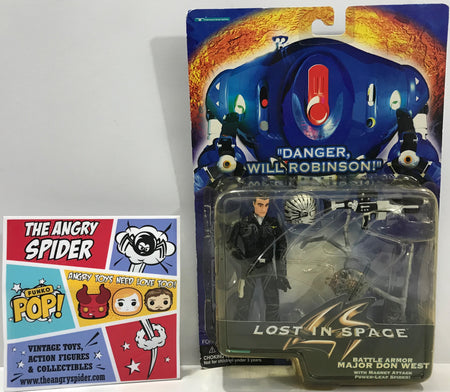 TAS041327 - 1997 Trendmasters Lost In Space - Battle Armor Major Don West