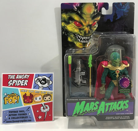 TAS041330 - 1996 Trendmasters Mars Attacks Supreme Commander Action Figure